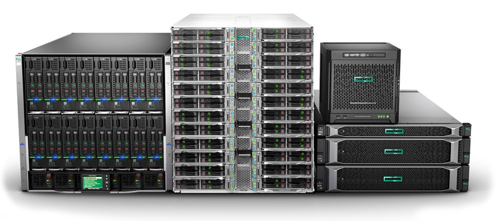 HP Enterprise Servers