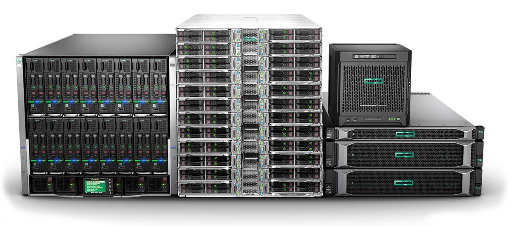 HP Enterprise Servers